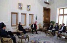 نماینده ویژه دبیرکل سازمان ملل متحد در امور افغانستان با دکترظریف دیدار و گفتگو کرد