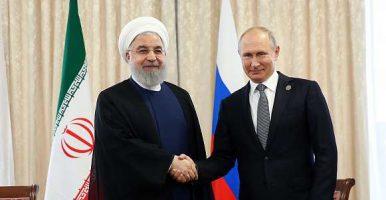 روابط ایران و روسیه در منطقه مثالزدنی است